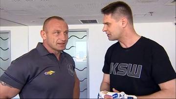 """27-05-2017 10:03 Nasz reporter chciał sprawdzić formę Pudziana. """"Najpierw zacznij biegać"""". W sobotę gala KSW: 39 Colosseum"""