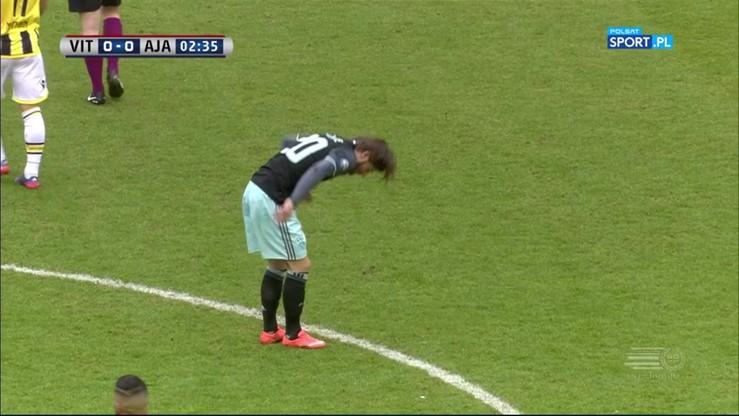 Vitesse Arnhem - Ajax Amsterdam 0:1. Skrót meczu