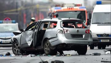 15-03-2016 11:36 Berlin: eksplozja samochodu. Policja wyjaśnia okoliczności
