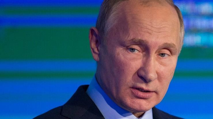 """Putin za wysłaniem zbrojnej misji policyjnej OBWE do Donbasu. """"W dalszej przyszłości"""""""