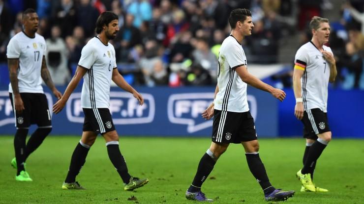 Reprezentacja Niemiec zmieniła plany po zamachach we Francji