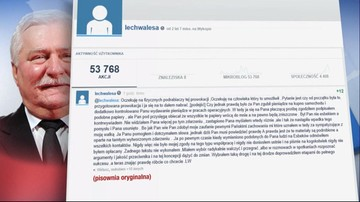 """20-02-2016 15:47 """"Ja się na Pana płaczącą prośbę zgodziłem"""". Kolejny wpis Lecha Wałęsy"""