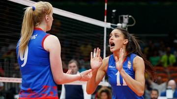 2017-09-28 ME siatkarek: Serbia ograła Białoruś w ćwierćfinale