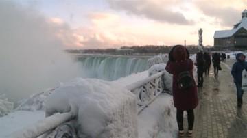 Wodospad Niagara wypiękniał zimą. Instagram zapełnił się zdjęciami lodowej krainy