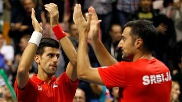 2017-01-11 Puchar Davisa: Serbowie wybrali kapitana
