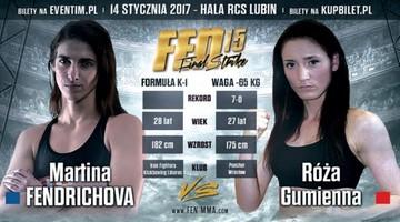 2017-01-01 FEN 15: Gumienna poznała rywalkę w walce o pas!