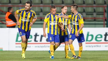 2015-11-06 1 liga: Arka Gdynia - Dolcan Ząbki. Transmisja w Polsacie Sport