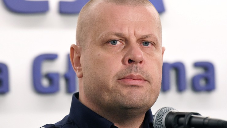 Komendant główny policji zrezygnował ze stanowiska
