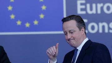20-02-2016 10:09 Cameron: ogłoszę datę referendum po sobotnim posiedzeniu rządu