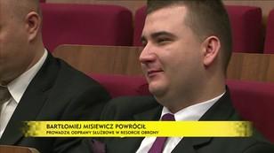 Misiewicz powrócił do MON - opozycja żąda wyjaśnień