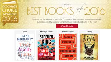 """11-12-2016 16:47 """"Harry Potter"""" i Stephen King. Najlepsze książki 2016 roku według czytelników z całego świata"""