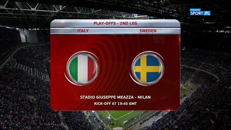 Włochy - Szwecja 0:0. Skrót meczu