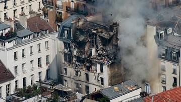 01-04-2016 13:32 Wybuch gazu w centrum Paryża