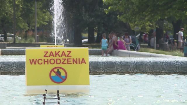Bakterie kałowe w miejskich fontannach