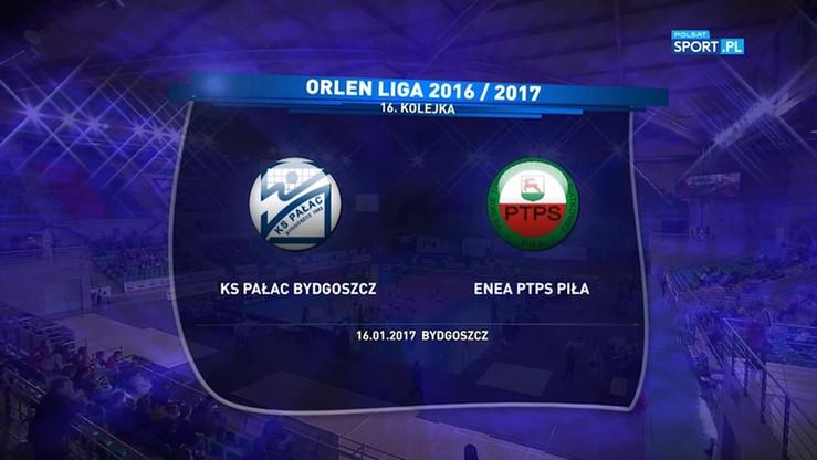 KS Pałac Bydgoszcz - PTPS Piła 3:0. Skrót meczu
