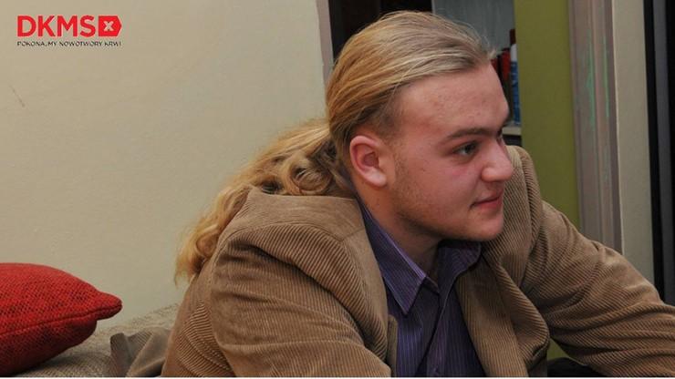 22-latek z Krakowa pomagał chorym na raka. Teraz sam potrzebuje pomocy