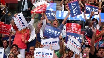 17-08-2016 08:25 Trump szukał głosów wśród Afroamerykanów, a na widowni biali wyborcy