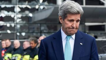 25-03-2016 17:44 Kerry w Brukseli z kondolencjami po wtorkowych zamachach
