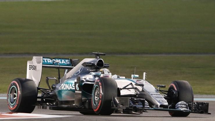 GP Abu Zabi: Hamilton i Rosberg najszybsi na treningu