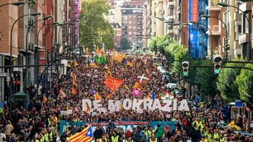 W Kraju Basków demonstracja poparcia dla referendum w Katalonii