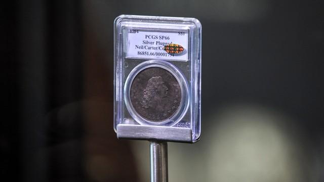Moneta warta 10 milionów dolarów. Możesz ją obejrzeć na Zamku Królewskim