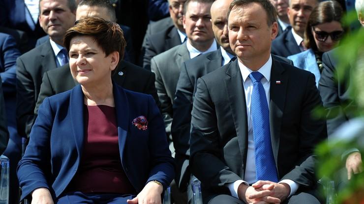 Prezydent i premier na czele rankingu zaufania