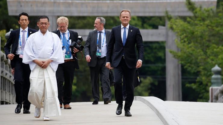 Tusk: grupa G7 musi regulować kryzys migracyjny