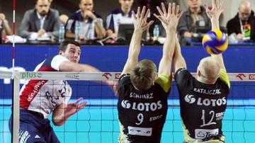 2016-02-06 Półfinał Pucharu Polski: ZAKSA - Lotos Trefl. Transmisja w Polsacie Sport