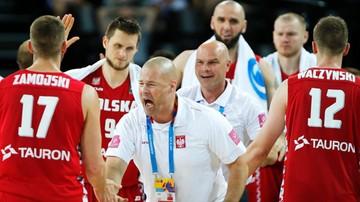 2015-09-11 Wygrany zakład koszykarzy. Zobacz, co musieli zrobić trenerzy