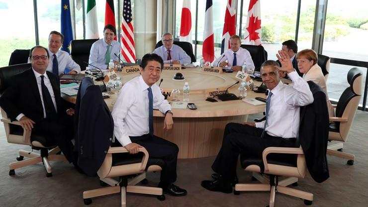Liderzy G7 ostrzegają przed Brexitem