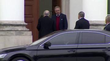 W Belwederze spotkanie prezydenta z prezesem PiS
