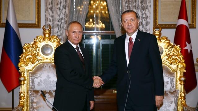 Putin i Erdogan porozumieli się ws. budowy gazociągu Turkish Stream