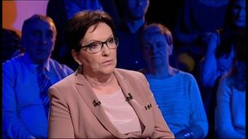 Ewa Kopacz: nie było wcześniej premiera, który nie respektowałby wyroku TK