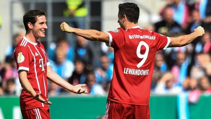 Puchar Niemiec: Gole Lewandowskiego i Sobiecha, debiut Kapustki