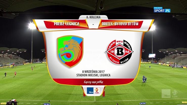 2017-09-08 Nice 1 Liga: Miedź Legnica - Drutex-Bytovia Bytów 2:1. Skrót meczu