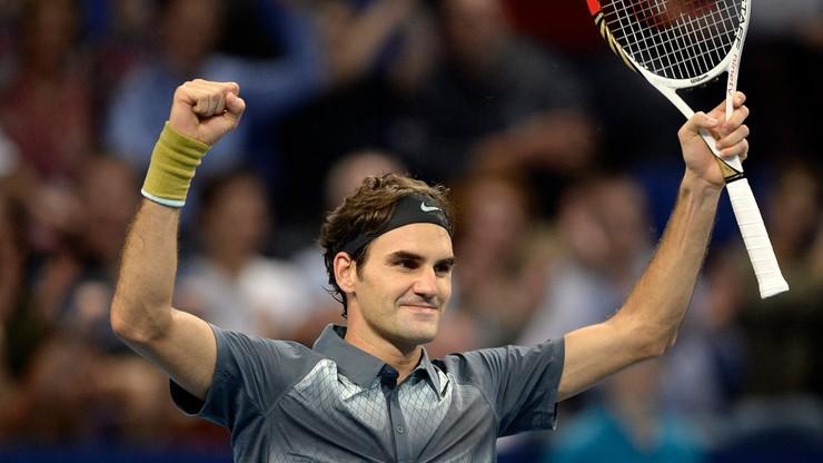 Federer w wielkim stylu wrócił do domu. To miłe uczucie być tutaj