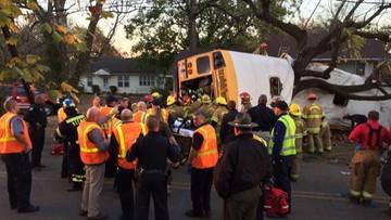 22-11-2016 06:07 USA: katastrofa autobusu szkolnego. Nie żyje co najmniej sześcioro dzieci