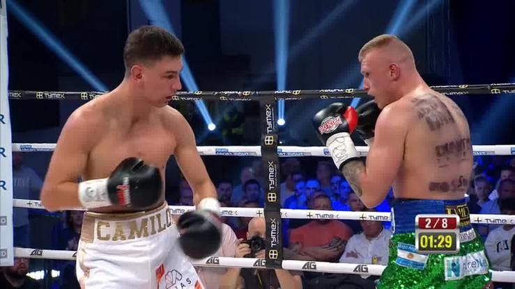 Michał Leśniak - Kamil Młodziński. Skrót walki
