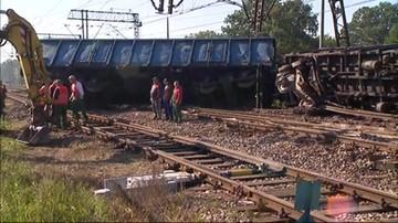 Wykoleił się pociąg towarowy przewożący węgiel. Szlak Łuków-Dęblin nieprzejezdny