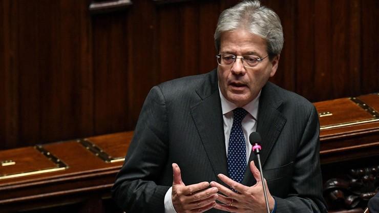 Włochy: wotum zaufania dla rządu Gentiloniego udzielone przez Izbę Deputowanych