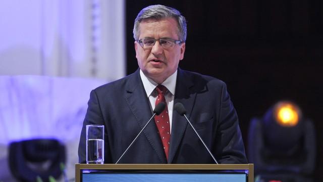 Komorowski skierował do Sejmu projekt nowelizacji ws. JOW-ów