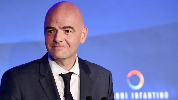 Infantino zaprezentował plan na pierwsze 90 dni kadencji prezydenta FIFA
