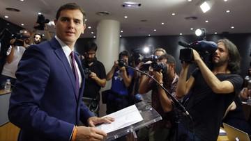 28-07-2016 14:38 Hiszpania: Ciudadanos deklaruje gotowość wejścia do trzypartyjnego rządu