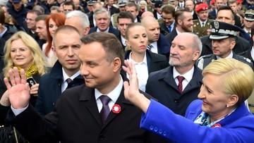 03-05-2017 20:17 Prezydent: potępienie należy się za zdradę, tak powinniśmy patrzeć na PRL