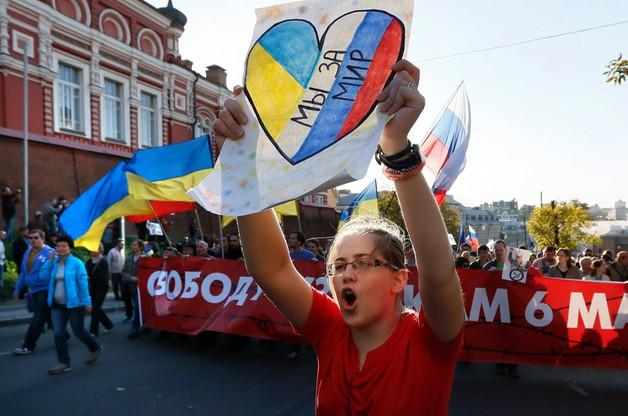 Rosjanie protestują. Antywojenna demonstracja w Moskwie