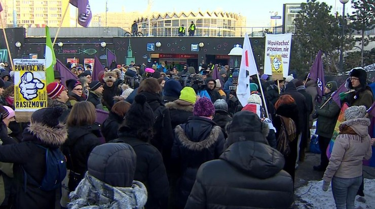 """""""Razem przeciwko rasizmowi"""". Protest w stolicy"""