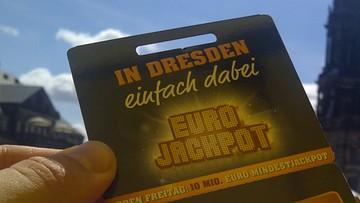 15-10-2016 06:52 90 mln euro - w Niemczech wyrównano rekord wygranej w loterii Eurojackpot