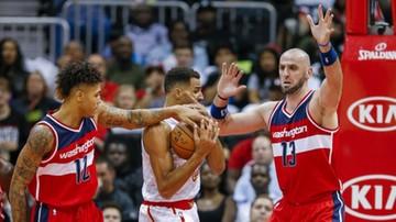 2016-10-28 NBA: Porażka Wizards na inaugurację. Cztery punkty Gortata