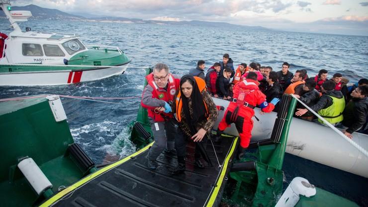 Niemiecki okręt uratował 615 migrantów u wybrzeży Libii