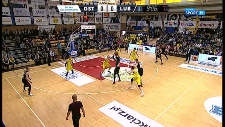 BM Slam Stal Ostrów Wlkp. - TBV Start Lublin 81:63. Skrót meczu